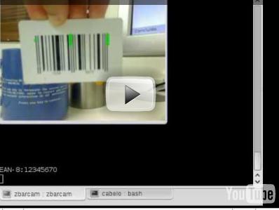 ARTIGOS:ZBAR leitura de código de barras a Webcam - openSUSE Wiki